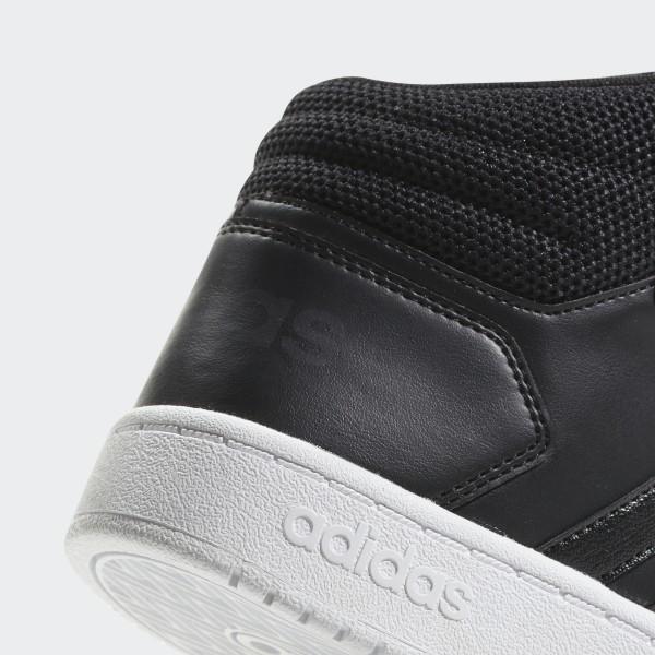 8bca5aea03 Chaussure Hoops 2.0 Mid Core Black / Core Black / Carbon B42100