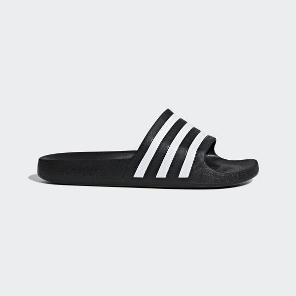 1296e346 Adilette Aqua Slides Core Black / Ftwr White / Core Black F35543
