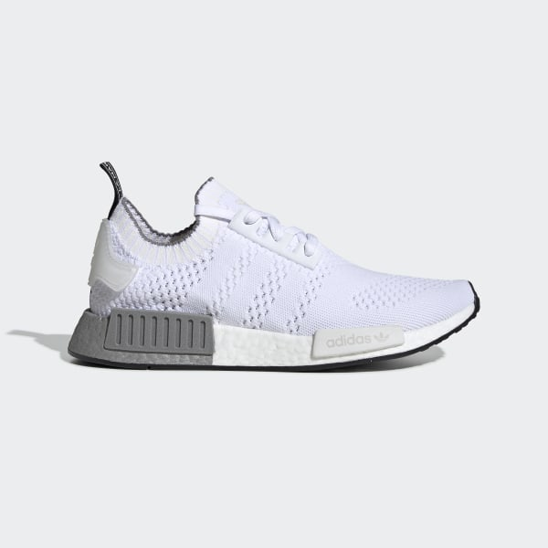 the latest 09541 d12f8 adidas NMD_R1 Primeknit Shoes - White | adidas Australia