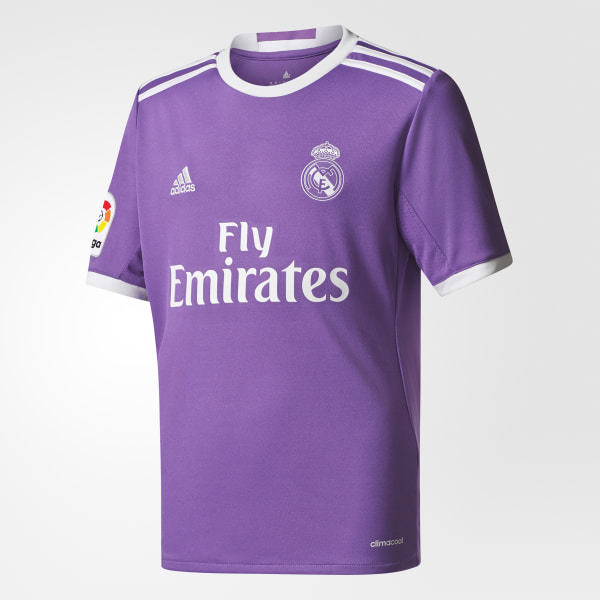official photos 44458 1b3d8 adidas Youth Real Madrid Away Replica Jersey - Purple | adidas Canada