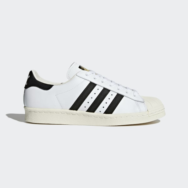 New Collection US Men's Adidas Originals Superstar Vintage Deluxe Casual Shoes WhiteGreen Retail