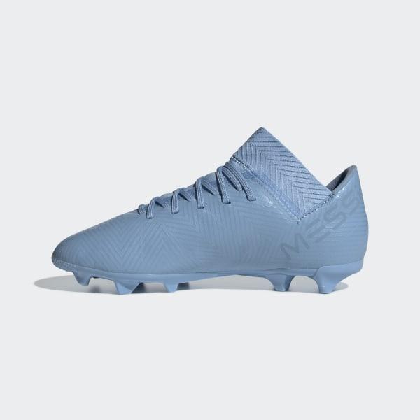 9f1e8891a Nemeziz Messi 18.3 Firm Ground Cleats Ash Blue / Ash Blue / Raw Grey DB2366