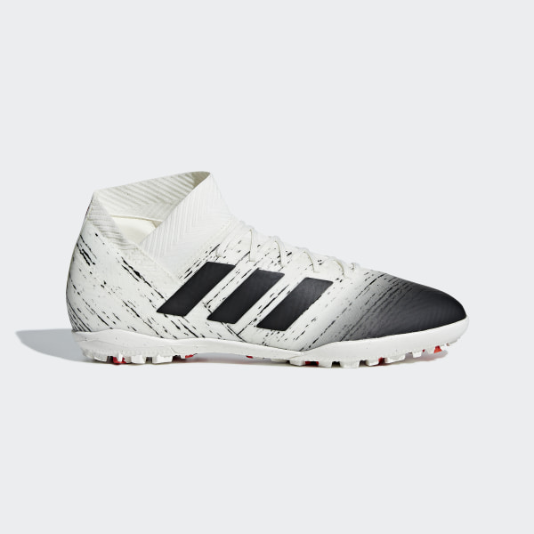 68a551db9 Nemeziz Tango 18.3 Turf Shoes Off White / Core Black / Active Red D97986
