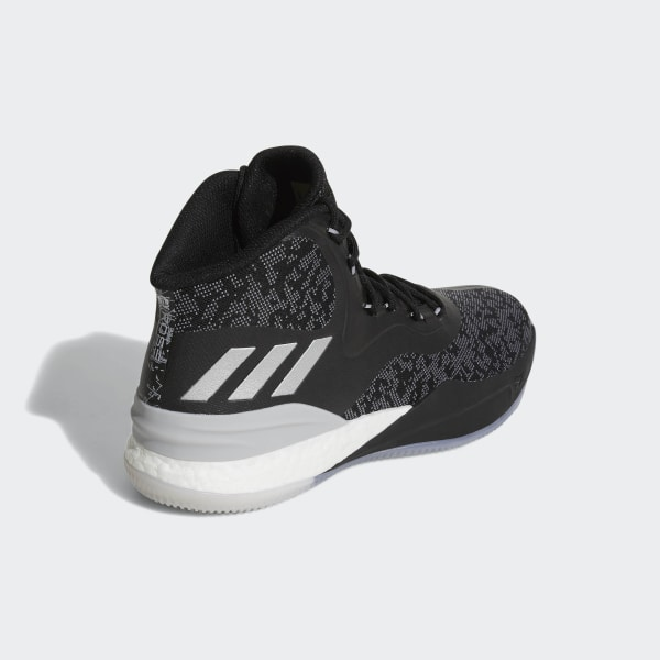 f758bcdb7e8a D Rose 8 Shoes Core Black Silver Metallic Grey Two CQ0847