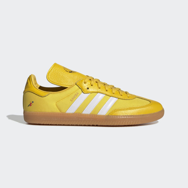 8d018fd2c Oyster Holdings Samba OG Shoes Eqt Yellow / Cloud White / Gold Metallic  G26699
