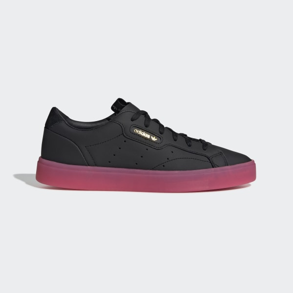 5e477f832f Zapatilla adidas Sleek Core Black / Core Black / Super Pink G27341
