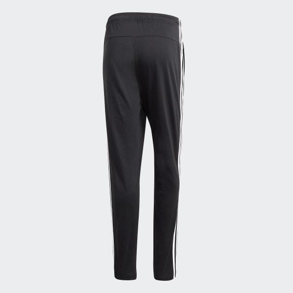 16425e01a adidas Essentials 3-Stripes Tapered Open Hem Joggers - Black | adidas UK