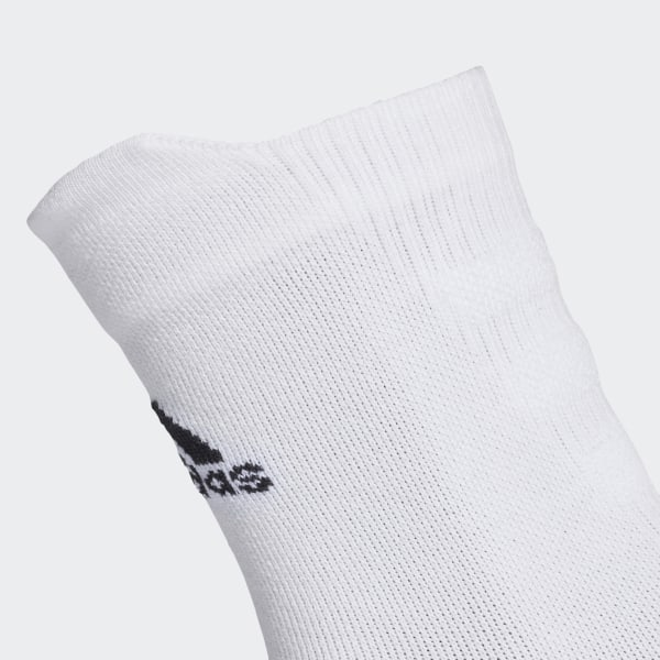 Chaussettes mi mollet Alphaskin Lightweight Cushioning Blanc adidas   adidas France
