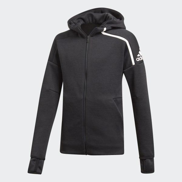 adidas Z.N.E. Fast Release Hoodie Grau | adidas Deutschland