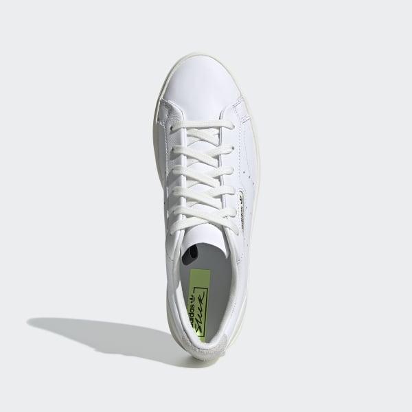 69d6ea137a04 adidas Sleek Shoes Cloud White   Off White   Crystal White CG6199