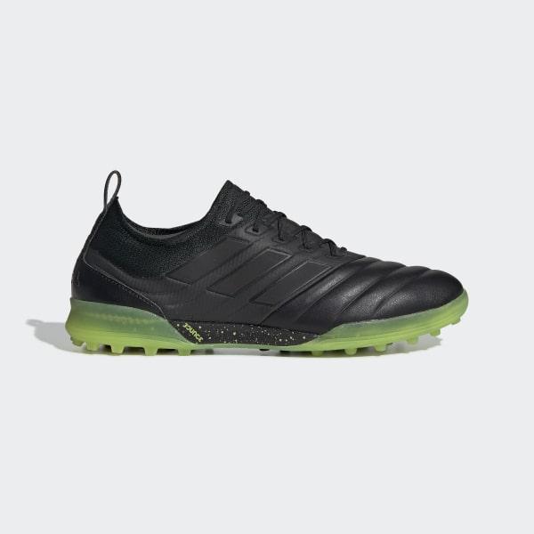 71b207803 Copa 19.1 Turf Shoes Core Black   Core Black   Solar Yellow AC8206
