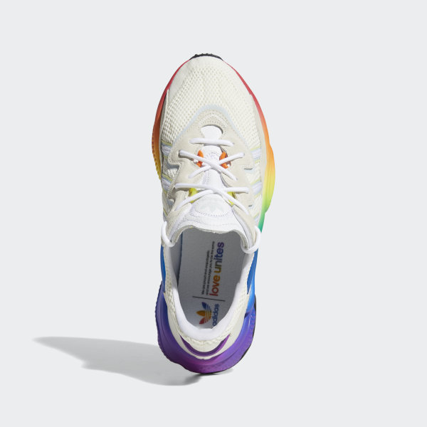 adidas Originals Chaussures Ozweego Pride Off WhiteBlue