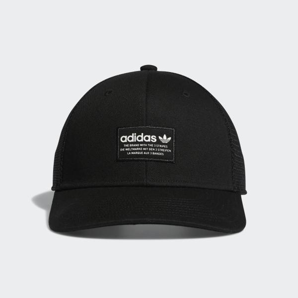 3f5d5dbc9 adidas Trefoil Trucker Hat - Black | adidas US