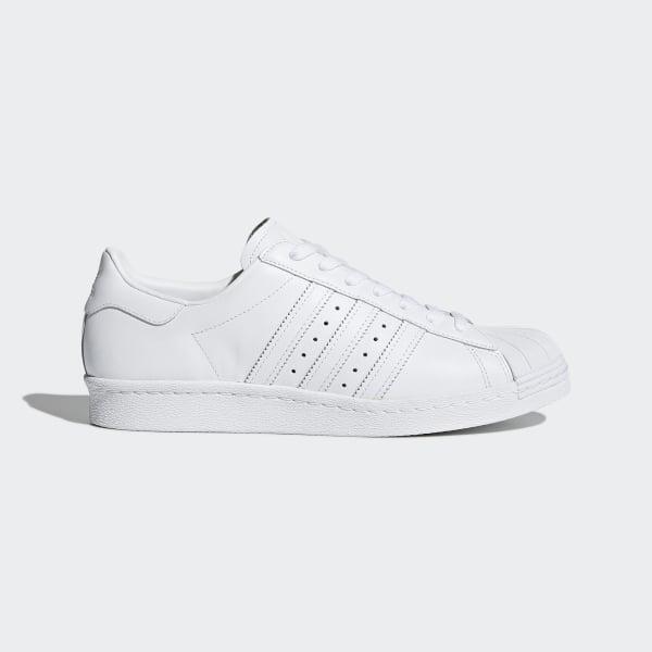 size 40 52599 92b87 adidas Superstar '80s Shoes - White | adidas UK