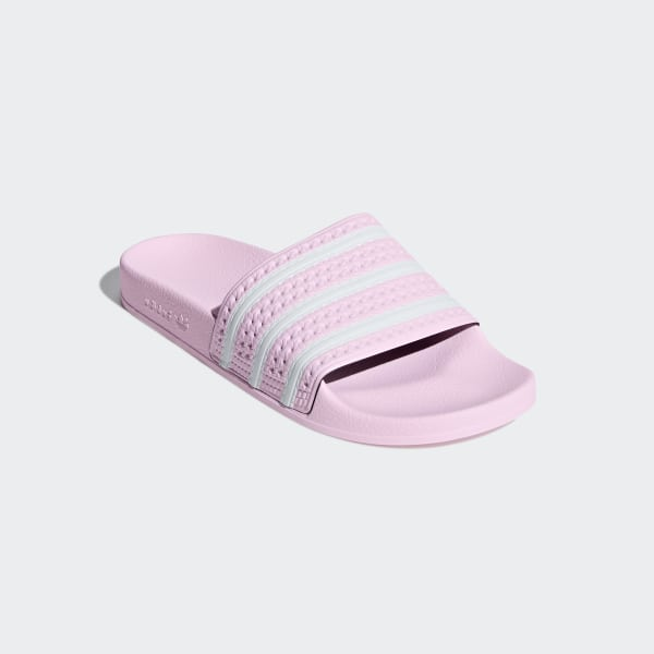 5cd7a859d Adilette Slides Clear Pink / Ftwr White / Clear Pink B37683