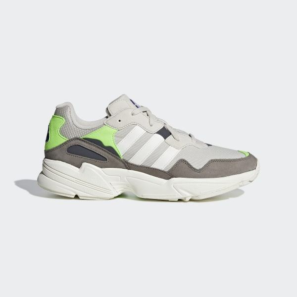 reputable site 503df c4c6f Chaussure Yung-96 Clear Brown   Off White   Solar Green F97182