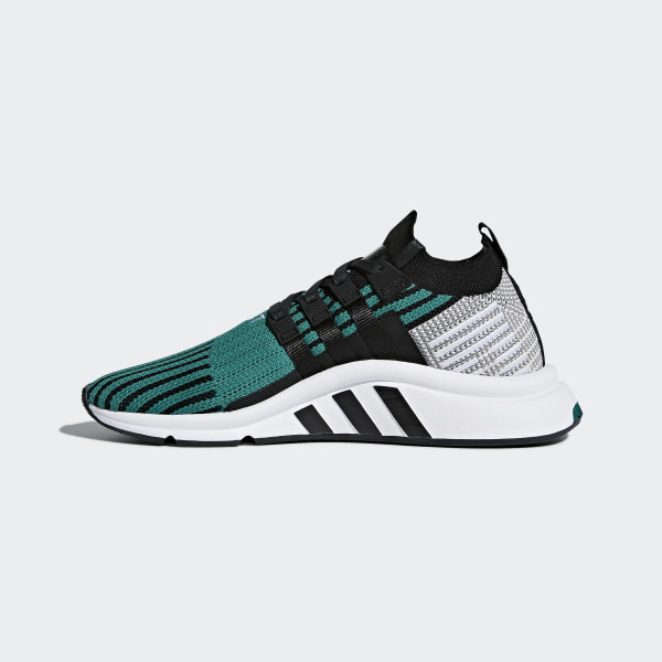pretty nice 24f81 3bd89 adidas EQT Support Mid ADV Primeknit Shoes - Green | adidas UK