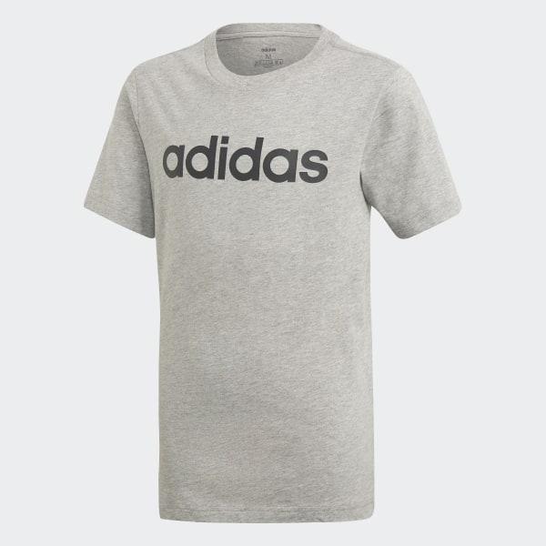 1ee6d3764fd97e adidas Essentials Linear Logo Tee - Grey | adidas New Zealand