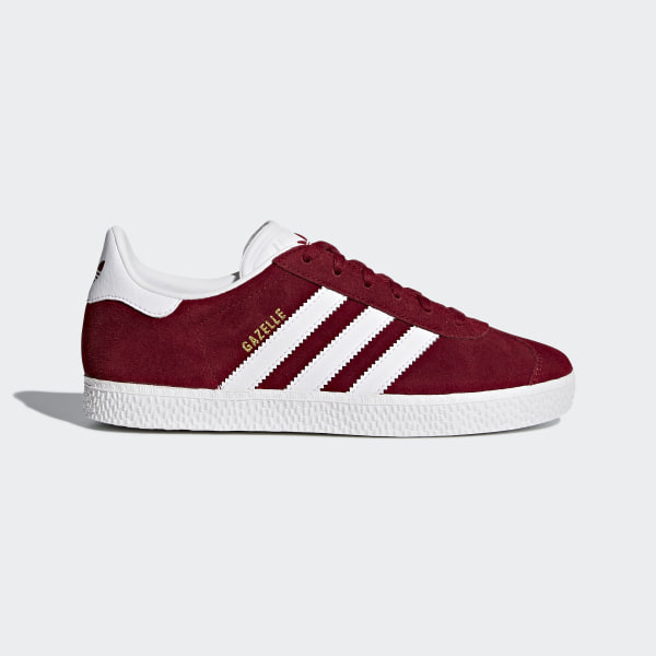 sélection premium b2f6c 6353c adidas Gazelle Shoes - Burgundy | adidas UK