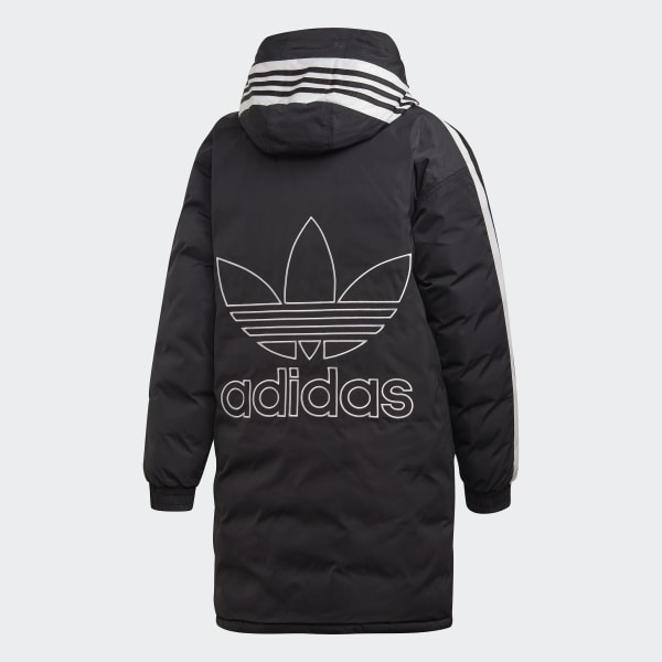 2c54073f2edb3 Doudoune Long Synthetic - noir adidas   adidas France