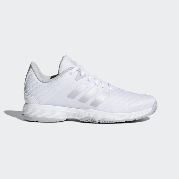 san francisco 50ebe 21511 Barricade Court Shoes Ftwr White   Matte Silver   Grey Two DB1746