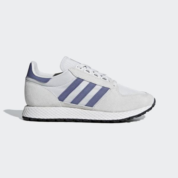 f75e12b83e6 adidas Forest Grove Shoes - White | adidas Canada
