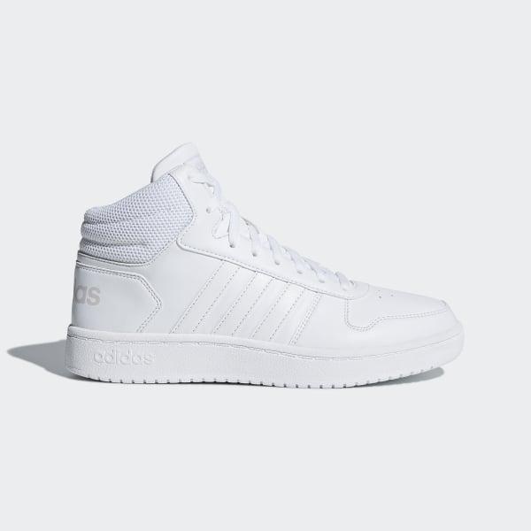 c71f8af302 Chaussure Hoops 2.0 Mid Ftwr White / Ftwr White / Ftwr White B42099