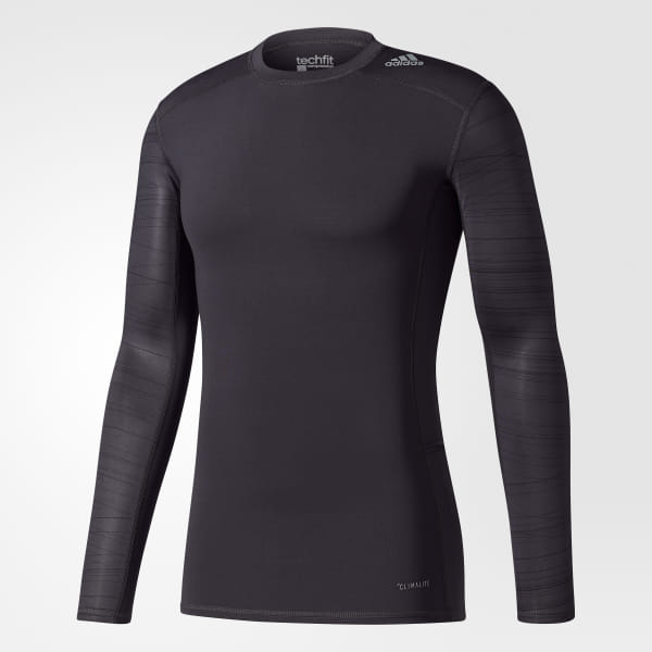 5aee3c2f75cd1 adidas Men's Techfit Long Sleeve Tee - Black | adidas Canada