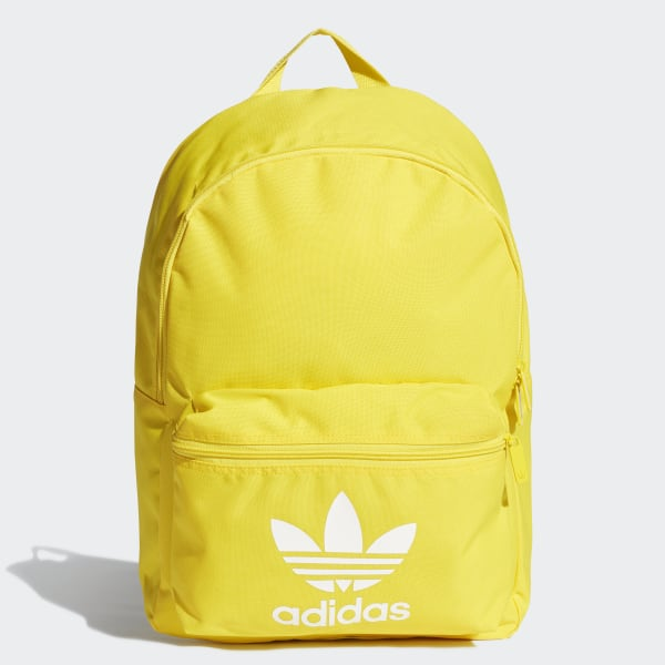 2734f264c adidas Adicolor Classic Backpack - Yellow | adidas US