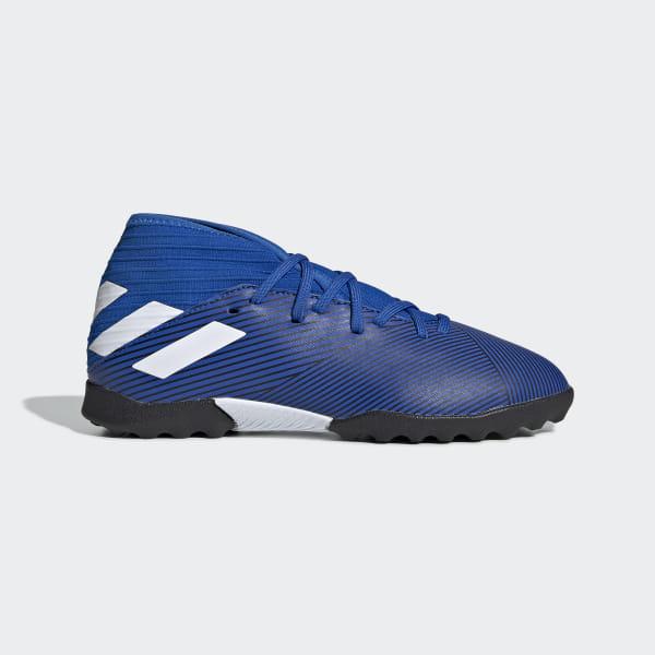 72c385fcf Nemeziz 19.3 Turf Shoes Football Blue / Cloud White / Core Black F99942