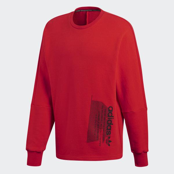 adidas NMD Sweatshirt Rot | adidas Deutschland