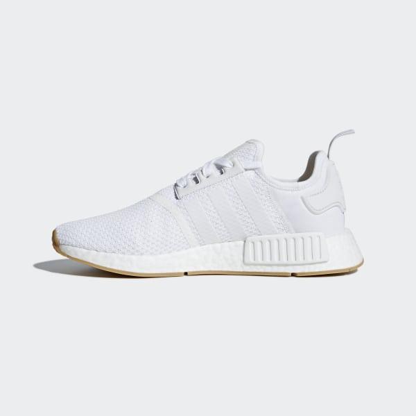 Men's adidas NMD Runner R1 Casual Shoes Footwear WhiteGum D96635