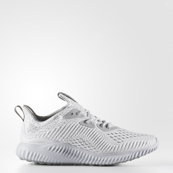 low priced df0eb e8aaf Alphabounce AMS Shoes Clear Grey   Multi Solid Grey   Core Black BW1132