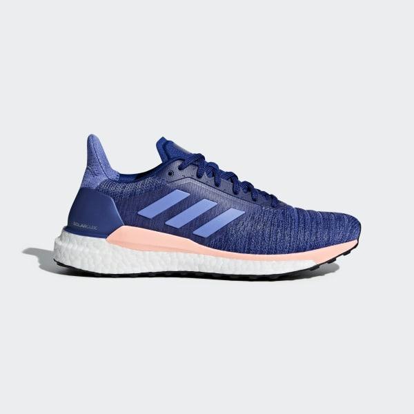 competitive price 25354 db0e2 adidas Solar Glide Shoes - Blue   adidas UK