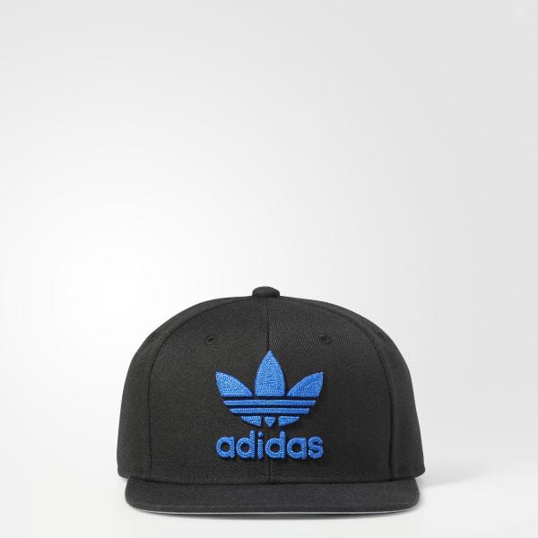 official photos dd8c5 8fe12 Trefoil Chain Snapback Hat Black CH7297