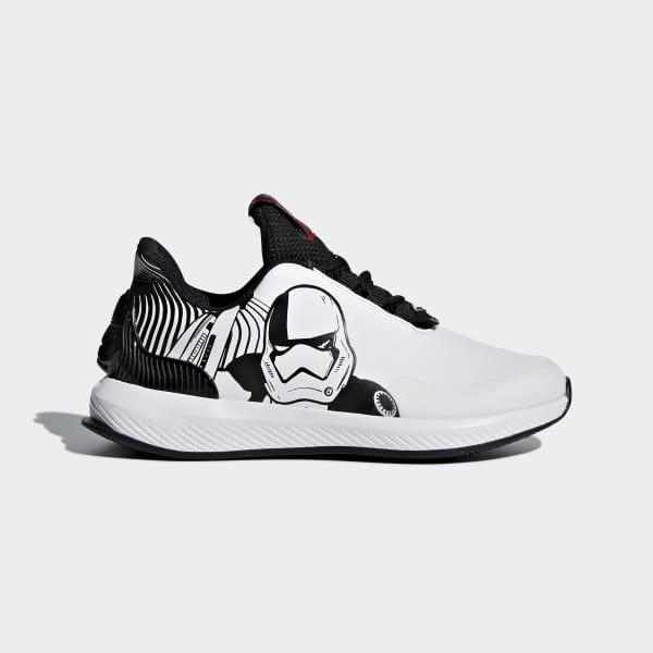 buy online aa8b8 63534 Chaussure Star Wars RapidaRun Cloud White   Core Black   Scarlet AH2466