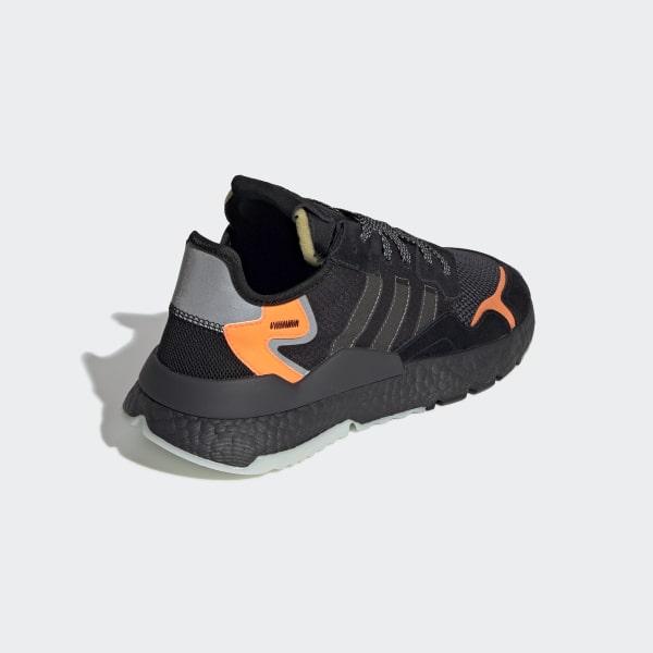 f39d9112 Nite Jogger Shoes Core Black / Carbon / Active Blue CG7088