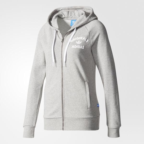 Veste à capuche gris adidas | adidas France