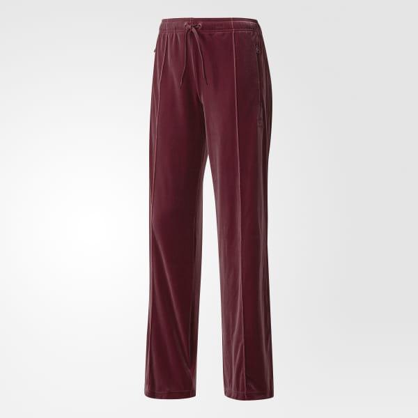 01c9881bdc8 adidas Velvet Vibes Sailor Pants - Red | adidas UK