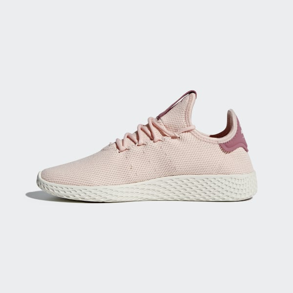 newest 0e24c 84ea6 Chaussure Pharrell Williams Tennis Hu Icey Pink   Icey Pink   Chalk White  AQ0988