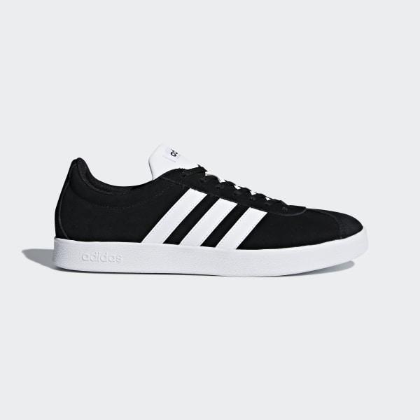 Adidas VL Court 2.0, Zapatillas de Deporte para Mujer, Negro