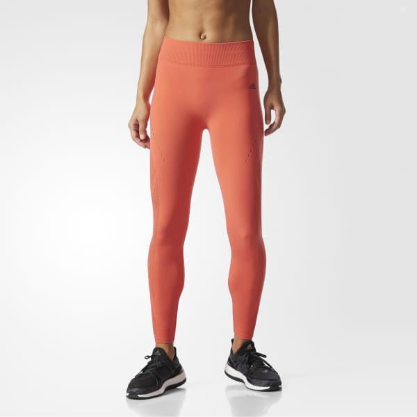 3a6a4cc8cc31d adidas Wanderflow Warp Knit Tights - Orange   adidas US