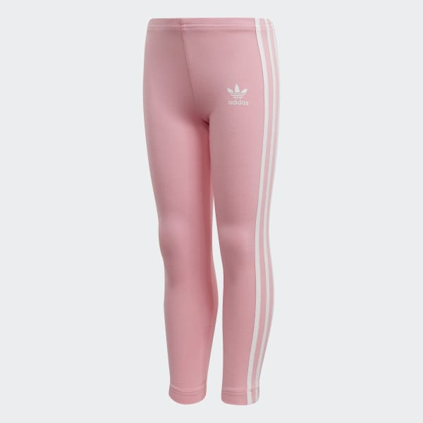0197c8bb5f0 3-Stripes Leggings Light Pink / White DV2852