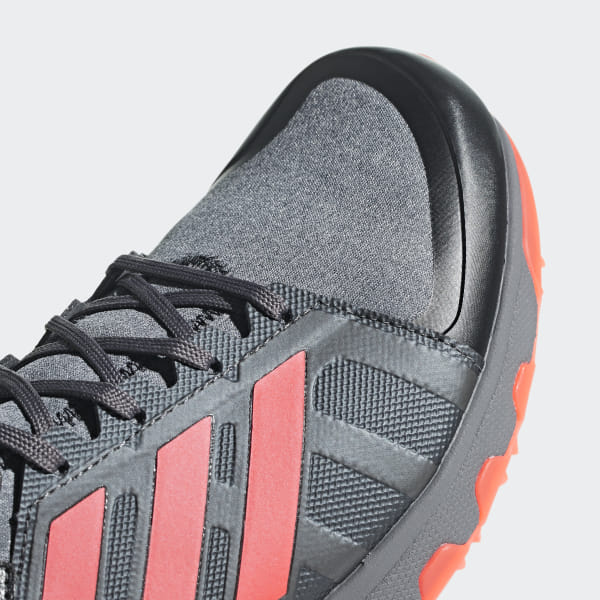new arrival ddce9 91f8e Hockey Lux Shoes Core Black   Solar Red   Night Met. AC8770
