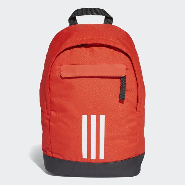 61c0abdc77c Adi Classic 3-Stripes Backpack XS Hi-Res Red / White / White DJ2301