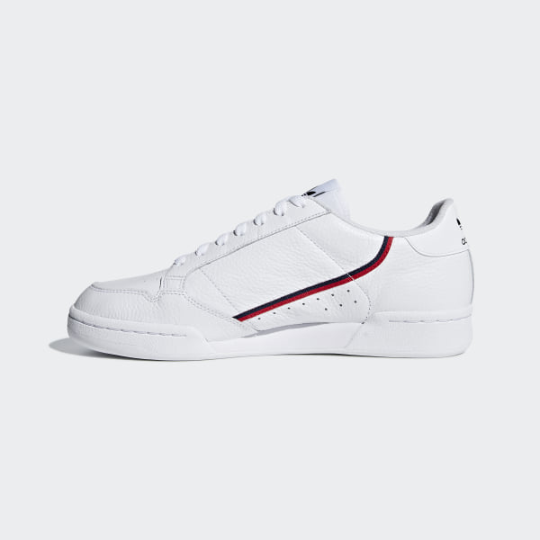 9faca3842bc3 Continental 80 Shoes Cloud White / Scarlet / Collegiate Navy G27706