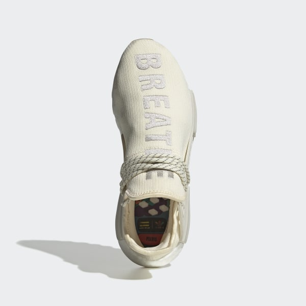 online retailer 3d6a4 6173d adidas Pharrell Williams Hu NMD Shoes - White | adidas US