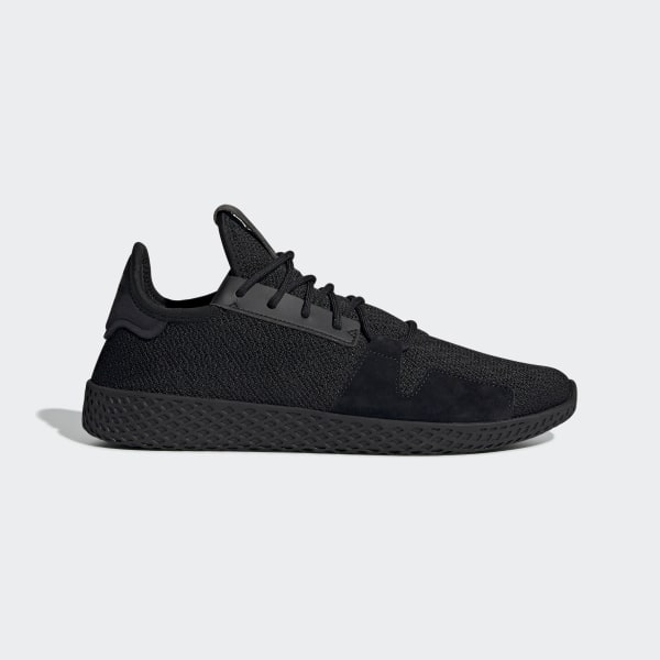 new concept 7cbb9 8bd10 Pharrell Williams Tennis Hu V2 Shoes Core Black   Carbon   Ftwr White DB3326