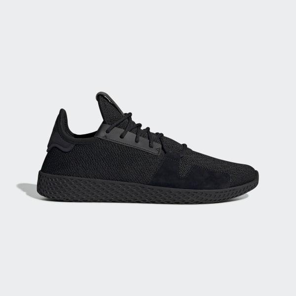 new concept 4df12 fac77 Pharrell Williams Tennis Hu V2 Shoes Core Black   Carbon   Ftwr White DB3326