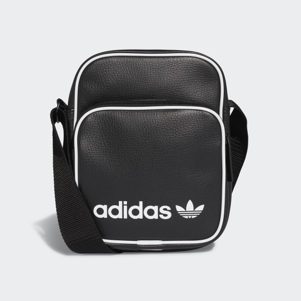 553da4f22feed adidas Mini Vintage Tasche - schwarz